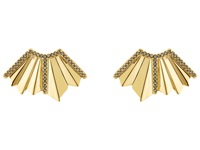 Giles And Brother Ray Fan Pave Earrings