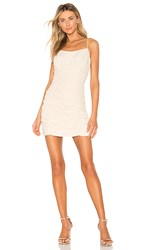 C Meo Collective Ended Up Here Mini Dress In Cream. Ecru