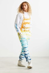 Chums Tie Dye Overall Yellow