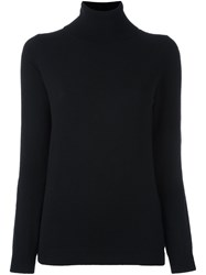 Allude Turtle Neck Sweater Black