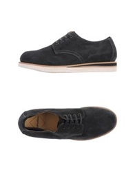 Bepositive Lace Up Shoes Steel Grey