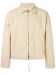 Romeo Gigli Vintage Lightweight Jacket Nude And Neutrals