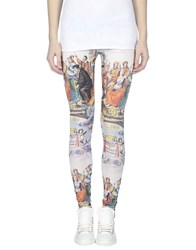 Happiness Trousers Leggings Women White