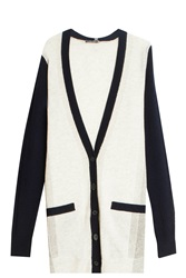 Vince Color Blocked Cardigan