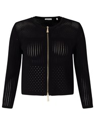 Marella Nebula Zip Through Cardigan Black