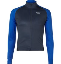 Pas Normal Studios Zip Up Cycling Jersey Blue
