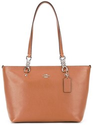 Coach 'Sophia' Small Tote Brown