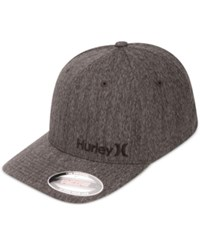 Hurley Men's Corps Embroidered Logo Snapback Hat Black And Bl