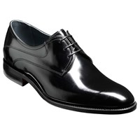Barker Wickham Derby Shoes Black