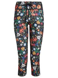 The Upside Power Wildflowers Print Performance Leggings Black Print