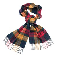 Barbour New Tartan Lambswool Scarf Multi Coloured