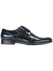Dolce And Gabbana Formal Lace Up Shoes Black