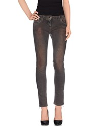 Aniye By Denim Denim Trousers Women Dark Brown
