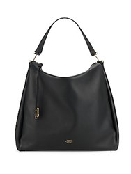 Vince Camuto Leather Hobo Tab Strap Bag Mink