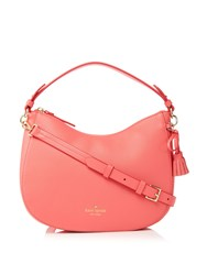 Kate Spade New York Hayes Street Small Aiden Hobo Bag Coral