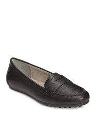 Aerosoles Drive In Penny Loafers Black