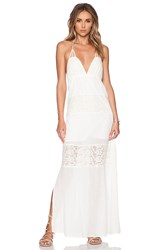 L Space Goldie Maxi Dress Ivory