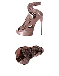 Alaia Sandals Skin Color