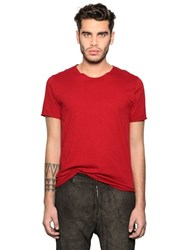 Giorgio Brato Essential Cotton Jersey T Shirt