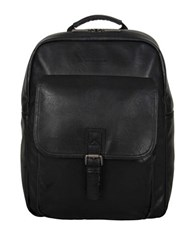 Kenneth Cole Reaction Textured Backpack Black