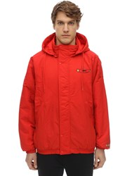 Reebok Tom And Jerry Light Padded Nylon Jacket Red