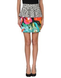 Marco Bologna Mini Skirts Black