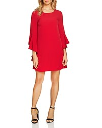 Cynthia Steffe Cece By Ashley Bell Sleeve Dress Radiant Rose