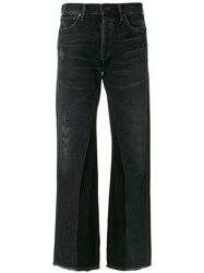 Citizens Of Humanity Bootcut Jeans Cotton Black