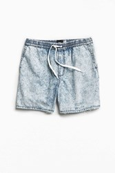 Bdg Acid Wash Denim Volley Short Vintage Denim Medium