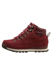 The North Face Back To Berkeley Redux Walking Boots Barolo Red Vintage Bordeaux