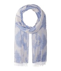 Vivienne Westwood Respect The Forest Scarf Light Blue