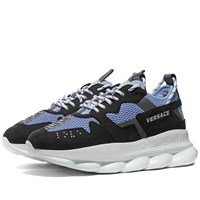 Versace Chain Reaction 2 Sneaker Blue