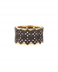Armenta Double Crivelli Wide Band Ring Multi