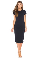 James Perse Classic Skinny Dress Navy