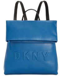 Dkny Tilly Logo Backpack Summer Blue Black