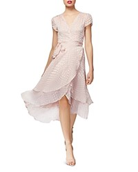Betsey Johnson Tonal Dot Dress Light Pink