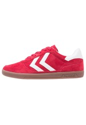 Hummel Victory Trainers Ribbon Red