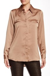 Insight Long Sleeve Blouse Brown