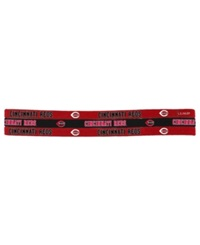 Little Earth Cincinnati Reds 3 Pack Elastic Headbands Team Color