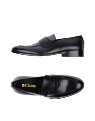 Galliano Footwear Loafers Black