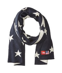The North Face International Collection Novelty Scarf Cosmic Blue Star Print Scarves