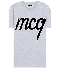 Mcq By Alexander Mcqueen Cotton T Shirt Grey