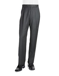 Palm Beach Cory Pleated Suit Pant Grey