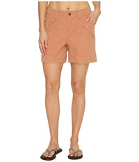 Royal Robbins Backcountry Billy Goat Canvas Shorts Pale Coral Women's Shorts Pink