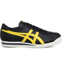 Onitsuka Tiger By Asics Corsair Leather Trainers Black Tai Chi Yellow