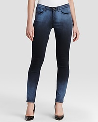 Elie Tahari Azella Ombre Skinny Jeans In Seascape