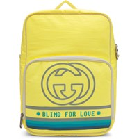 Gucci Yellow Medium 'Blind For Love' Backpack