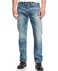 Silver Jeans Eddie Relaxed Fit Jeans Blue
