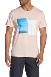 7 For All Mankind Present Graphic T Shirt Pinksnrise