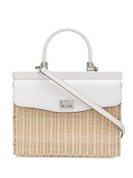 Rodo Wicker Paris Small Tote 60